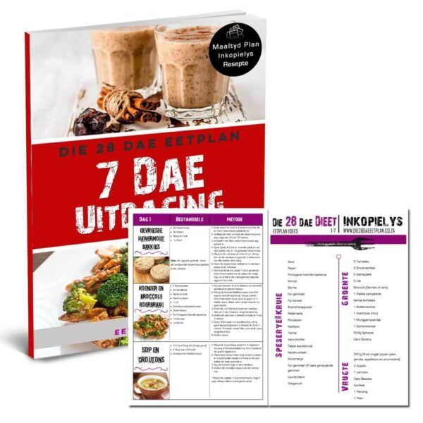 Die 28 Dae Dieet 7 Dae Uitdaging deur Eetplan Idees