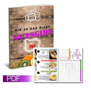 Die 28 Dae Eetplan Nutsgids (PDF)