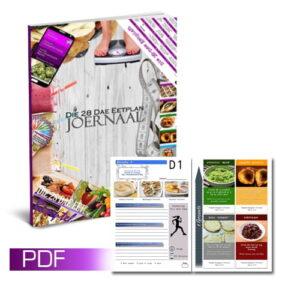 Die 28 Dae Eetplan Joernaal (PDF)