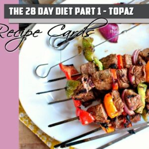 Recipe Cards Part 1 – Topaz Pack (PDF)