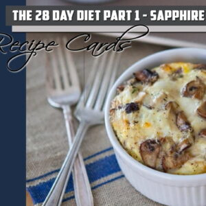 Recipe Cards Part 1 – Sapphire Pack (PDF)