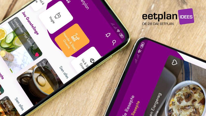 Die 28 Dae Eetplan Resepteboek App